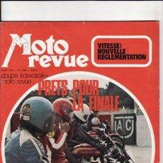 Coches y Motocicletas: REVISTA MOTO REVUE Nº 2080 AÑO 1972. . Lote 22809981