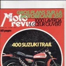 Coches y Motocicletas: REVISTA MOTO REVUE Nº 2093 AÑO 1972. PRUEBA: SUZUKI 400 TRAIL. REPORTAJES Y DEPORTE PREGUNTAR.. Lote 22809983