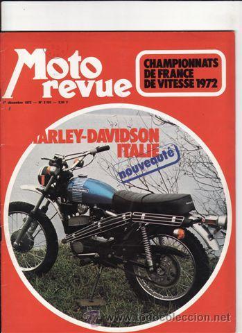 REVISTA MOTO REVUE Nº 2101 AÑÓ 1972. (Coches y Motocicletas - Revistas de Motos y Motocicletas)