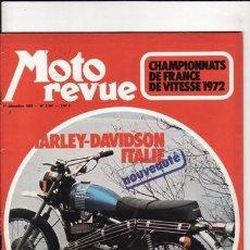 Coches y Motocicletas: REVISTA MOTO REVUE Nº 2101 AÑÓ 1972. . Lote 22829459