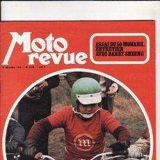 Coches y Motocicletas: REVISTA MOTO REVUE Nº 2148 AÑO 1973. PRUEBA: MAICO 125 GS. PRUEBA: MONTESA KIG SCORION AUTOMIX. REPO. Lote 22829460