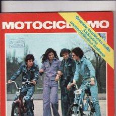 Coches y Motocicletas: REVISTA MOTOCICLISMO Nº APRILE AÑO 1974. PRUEBA: NORTON COMANDO 850. PRUEBA: MAIGO GS 125.. Lote 22847079