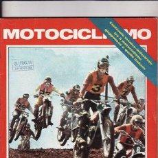 Coches y Motocicletas: REVISTA MOTOCICLISMO Nº LUGLIO AÑO 1974. PRUEBA: MOTO GUZZI GTS 350. PRUEBA: DKW GS SPECIAL 125. PRU. Lote 22847083