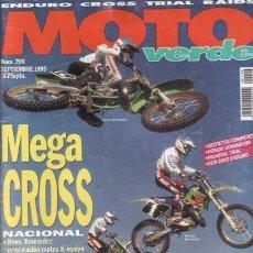 Coches y Motocicletas: REVISTA MOTO VERDE Nº 206 AÑO 1995. Lote 23102968