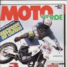 Coches y Motocicletas: REVISTA MOTO VERDE Nº 173 AÑO 1993. COMP: HONDA CR 125, KAWASAKI KX 125, KTM SX 125, SUZUKI RM 125. Lote 143604745