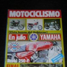 Coches y Motocicletas: MOTOCICLISMO Nº 728 - NOV 1981 - PUCH 125 TT - 250 CROSS - COBRA 74 TT AGUA / DERBI T250 - CAMPEONAS. Lote 17118098