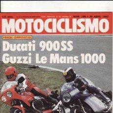 Coches y Motocicletas: REVISTA MOTOCICLISMO Nº 798 AÑO 1983. PRUEBA: DUCATI 900 SS. YAMAHA XS 400.. Lote 23717153