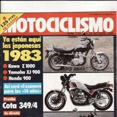 Coches y Motocicletas: REVISTA MOTOCICLISMO Nº 773 AÑO 1982. PRUEBA: MONTESA COTA 349/4.. Lote 23731034