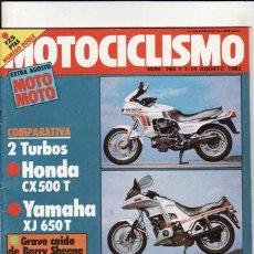 Coches y Motocicletas - REVISTA MOTOCICLISMO Nº 764 AÑO 1982. PRU: HONDA XL. 125. COMP. HONDA CX 500 T Y YAMAHA XJ 650 T. - 23798650
