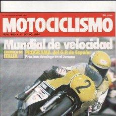 Coches y Motocicletas: REVISTA MOTOCICLISMO Nº 658 AÑO 1980. PRUEBA: BENELLI 354 T. PRUEBA: MERLIN DG 1. REPORTAJES Y DEPOR. Lote 109489359