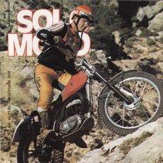 Coches y Motocicletas: REVISTA SOLO MOTO ACTUAL Nº 164 AÑO 1978. PRUEBA: BULTACO SHERPA T 350.. Lote 24613189