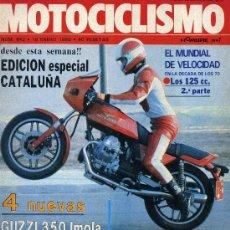 Coches y Motocicletas: MOTOCICLISM 642 19-1-80 GUZZI IMOLA 350, DERBI 74 CROSS, MONTESA COTA 349 PROTOTIPO, OSSA 350 DESERT. Lote 24906646