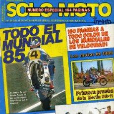 Coches y Motocicletas: SOLO MOTO 35. 15-12-85 MERLIN DG-11 BMW K100RS HONDA VF1000R HONDA CBR400 SUZUKI GSX400E YAMAHA XS40. Lote 17676181