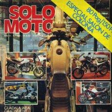 Coches y Motocicletas: SOLO MOTO 348 24-9-82 KTM 125 TRAIL, MOTO GUZZI : V-65, CALIFORNIA II, V50 CUSTOM. Lote 17723208