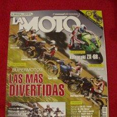 Coches y Motocicletas: LA MOTO Nº 206 (JUNIO-2007). Lote 17820780