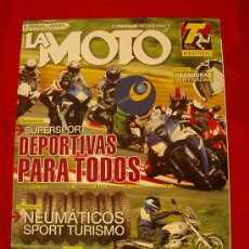 Coches y Motocicletas: LA MOTO Nº 207 (JULIO-2007). Lote 17820820