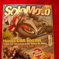 Coches y Motocicletas: SOLOMOTO 30 N-287 (12-06). Lote 17821347