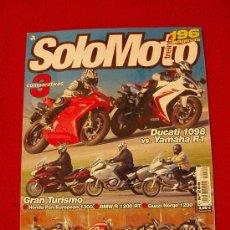 Coches y Motocicletas: SOLOMOTO 30 N-289 (02-07). Lote 17821455