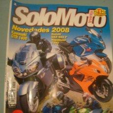 Coches y Motocicletas: SOLOMOTO 30 N-294 (07-07). Lote 17821854