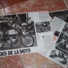 Coches y Motocicletas: REPORTAJE SOBRE LA CARRERA DE MOTOS TOURIST TROPHY. 1991. 6 PÁGINAS. RECORTE DE PRENSA.. Lote 19005057
