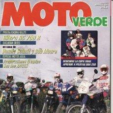 Coches y Motocicletas - REVISTA MOTO VERDE Nº 170 AÑO 1992. PRUEBA GILERA RC 750 R. PRUEBA GAMA YAMAHA. - 58325838