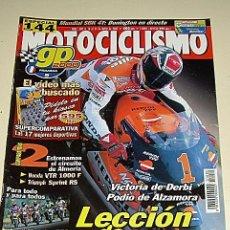 Coches y Motocicletas: MOTOCICLISMO 1682 AÑO 2000 LECCIÓN DE CRIVILLE - DUCATI MONSTER 750 / HONAD HORNET 600 S ..... Lote 24697598