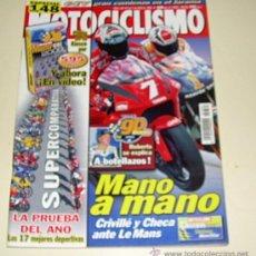 Coches y Motocicletas: MOTOCICLISMO 1681 AÑO 2000 FINAL DE LA SUPERCOMPARATIVA MASTER BIKE 2000. Lote 25820468