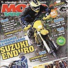 Coches y Motocicletas: REVISTA MOTO VERDE Nº 357 AÑO 2008. PRUEBA: KTM 144 SX. PRUEBA: BMW F 800. PRUEBA: BMW F 650 GS. PRU. Lote 26607394