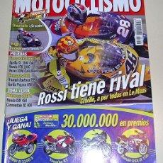 Coches y Motocicletas: MOTOCILISMO 1734 DEL 2001 - APRILIA SL 1000 FALCO - HONDA VTR 1000- VOXAN 1000 CAFE RACER.... Lote 27245243