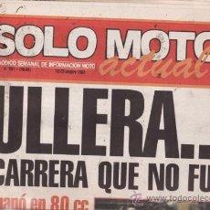 Coches y Motocicletas: REVISTA SOLO MOTO ACTUAL Nº 451 AÑO 1984. PRUEBA: KTM 300 GS. . Lote 26979383