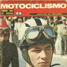 Coches y Motocicletas: REVISTA MOTOCICLISMO FEBRERO 1970. Lote 20022014