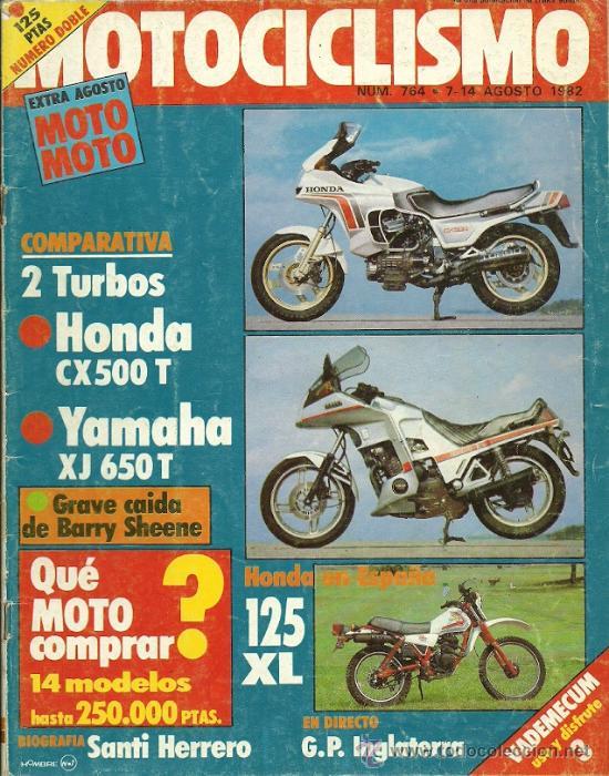 REVISTA MOTOCICLISMO Nº 764 (Coches y Motocicletas - Revistas de Motos y Motocicletas)