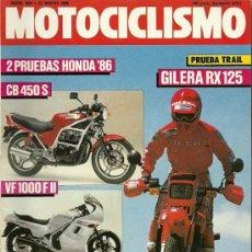 Coches y Motocicletas: REVISTA MOTOCICLISMO Nº 954. Lote 20022807