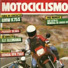 Coches y Motocicletas: REVISTA MOTOCICLISMO Nº 955. Lote 29220469