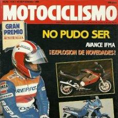 Coches y Motocicletas: REVISTA MOTOCICLISMO Nº 1178. Lote 20022865