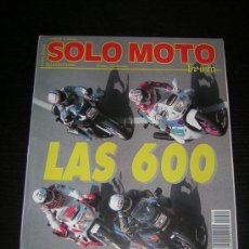 Coches y Motocicletas - SOLO MOTO 30 - Nº 90 - AGO 1990 - APRILIA FUTURA / CAGIVA FRECCIA / GILERA SP 01 / SCOOPY / VESPA - 20026336