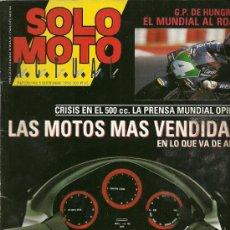 Coches y Motocicletas: REVISTA SOLO MOTO ACTUAL Nº 747. Lote 20035101