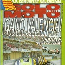 Coches y Motocicletas: REVISTA SOLO MOTO ACTUAL Nº 1215. Lote 20035261