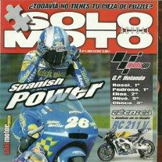 Coches y Motocicletas: REVISTA SOLO MOTO ACTUAL Nº 1360. Lote 20035321