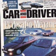 Coches y Motocicletas: REVISTA CARD AND DRIVER Nº 5 AÑO 1995. PRUEBA: ALFA 145 Q. COMPARATIVA: MITSUBISHI SPACE WAGON, CITR. Lote 21226775