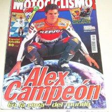 Coches y Motocicletas: MOTOCICLISMO Nº 1653 OCTUBRE 1999 ESPECIAL ALEX CRIVILLE CAMPEÓN ( SIN POSTER ). Lote 26786233