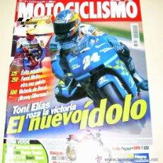 Coches y Motocicletas: MOTOCICLISMO Nº 1739 JUNIO 2001 KAWA ZRX 1200 - MV AUGUSTA BRUTALE - APRILA PEGASO BMW F 650. Lote 27107450