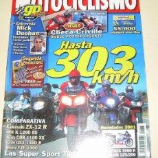 Coches y Motocicletas: MOTOCICLISMO Nº 1.683 MAYO 2000 COMPARATIVA LAS SUPER SPORT TURISMO DEL 2000 . Lote 25978216