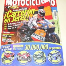 Coches y Motocicletas: MOTOCICLISMO Nº 1733 MAYO 2001 - YAMHA R1 - BMW K 1200 RS -..... Lote 25545199
