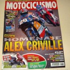 Coches y Motocicletas: MOTOCICLISMO Nº 1775-MARZO 2002 - CRIVILLE UNA HISTORIA EN IMAGENES - HONDA VTR 1000..... Lote 27282942