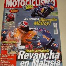 Coches y Motocicletas: MOTOCICLISMO Nº 1675 - MARZO ABRIL 2000 - TRIUMPH TT 600 I - BMW C 1 - ... DINAMITA MCCOY. Lote 27282943