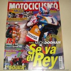 Coches y Motocicletas: MOTOCICLISMO Nº 1661 - DICIEMBRE 1999 - MICK DOOHAN SE VA EL REY - YAMAHA R1 ...... Lote 25634896