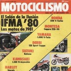 Coches y Motocicletas: REVISTA MOTOCICLISMO Nº 674 AÑO 1980. PRUEBA: MONTESA CAPPRA 250 VG. MONTESA ENDURO 250 H6.. Lote 36785934