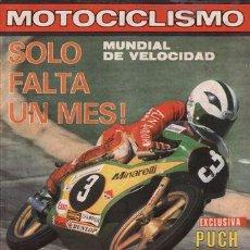 Coches y Motocicletas: REVISTA MOTOCICLISMO Nº 599 AÑO 1979. PRUEBA: PUCH MAGNUN MK II. PRUEBA. PUCH X-30 CROSS.. Lote 288349318