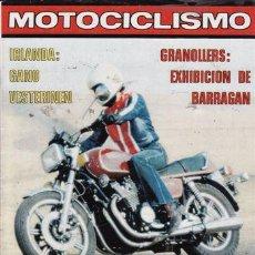 Coches y Motocicletas: REVISTA MOTOCICLISMO Nº 549 AÑO 1978. PRUEBA: YAMAHA XS 1100. PRUEBA: YAMAHA SR 500. PRUEBA: MONTESA. Lote 21919083